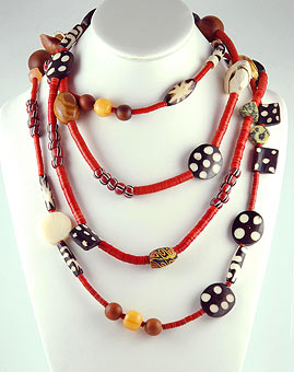 How to Make an African Beaded Leather Bracelet | eHow.com